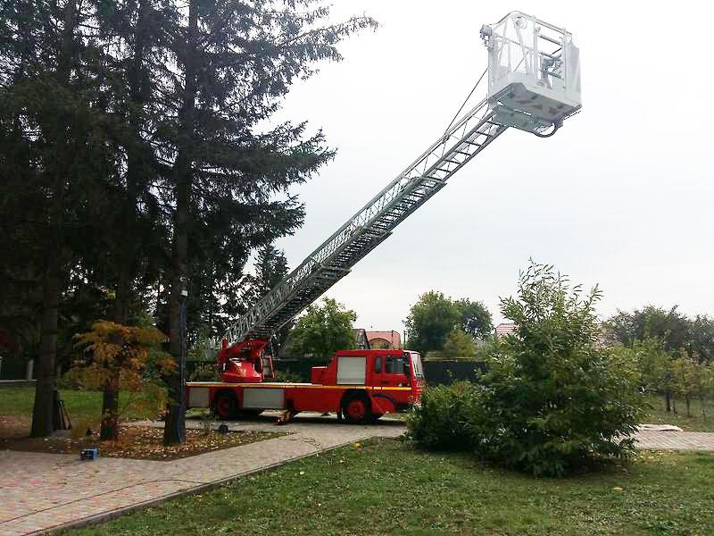Услуги автовышки 32 метра